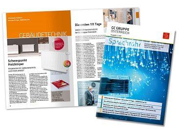 Lighthouse Portfolio: Magazin- und Contenterstellung